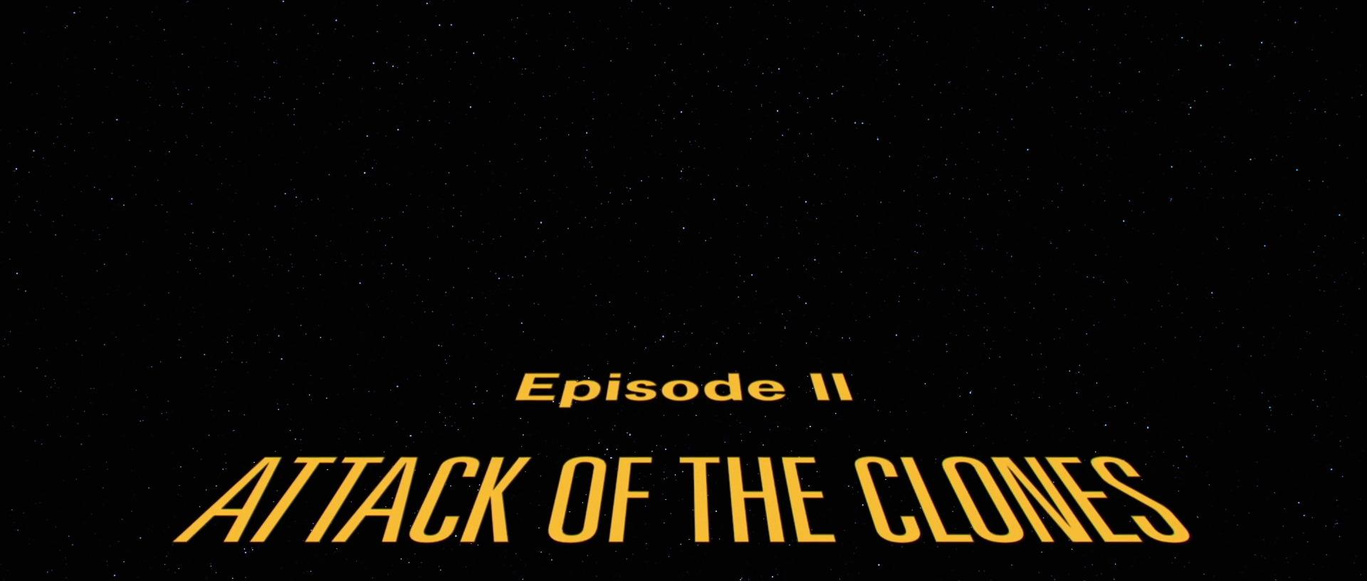 Star Wars Episode II: Attack of the Clones (2002)