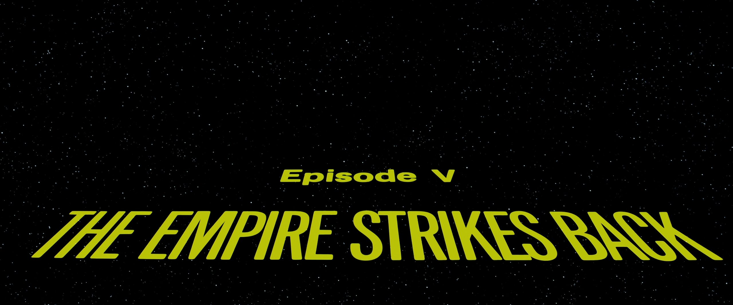 Star Wars: Episode V – The Empire Strikes Back (1980) [4K]