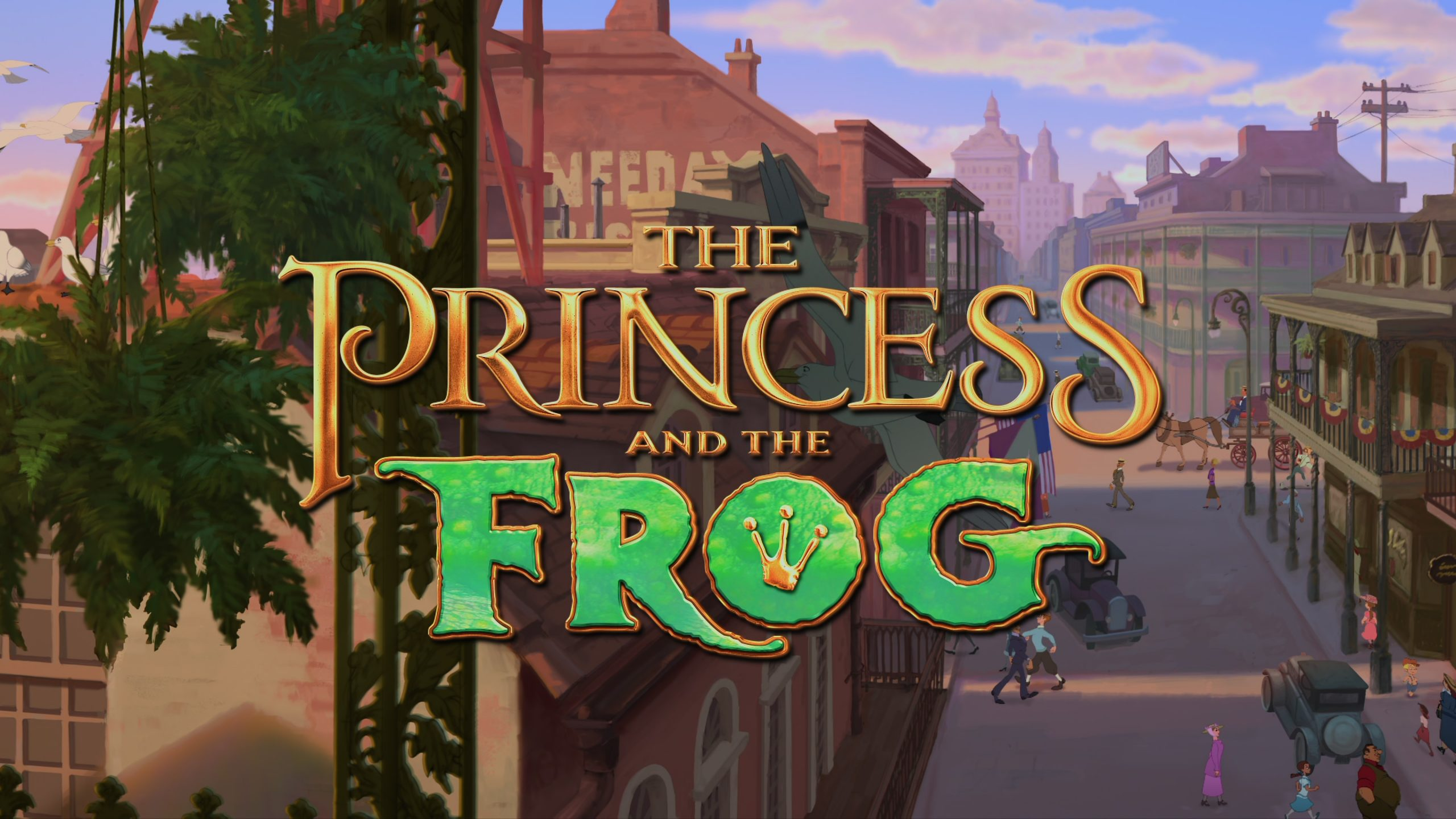 The Princess and the Frog (2009) [4K]