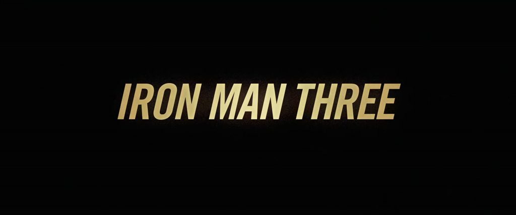 Iron Man Three (2013) [4K]