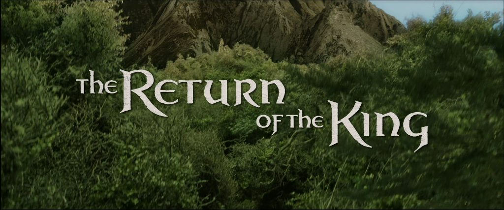 The Lord of the Rings: The Return of the King (2003) [4K]